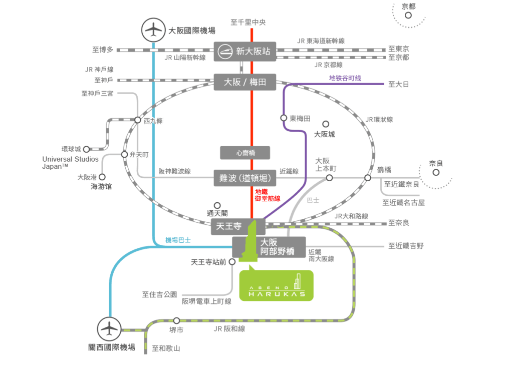 abeno-harukas-subway-map